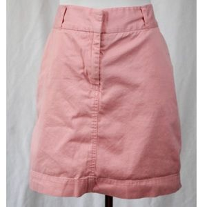 Vineyard Vines Pink Denim Mini Skirt Size 12